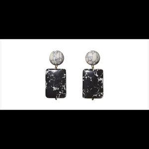 Lele Sadoughi Keepsake Stone earrings